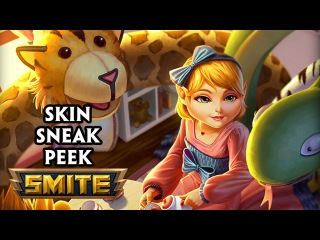 Child's Play Scylla Skin - Smite Sneak Peek