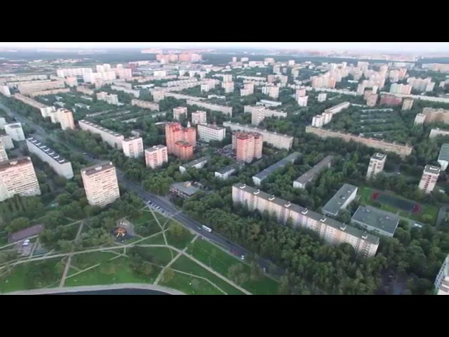 ПОЛЕТ DJI phatnom 3 Professional Гольяново