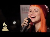 Live performance of Paramore's new single, Still Into You GRAMMYs