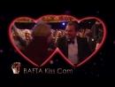 BAFTA 2016 - Леонардо ДиКаприо и Мэгги Смит (камера поцелуев)