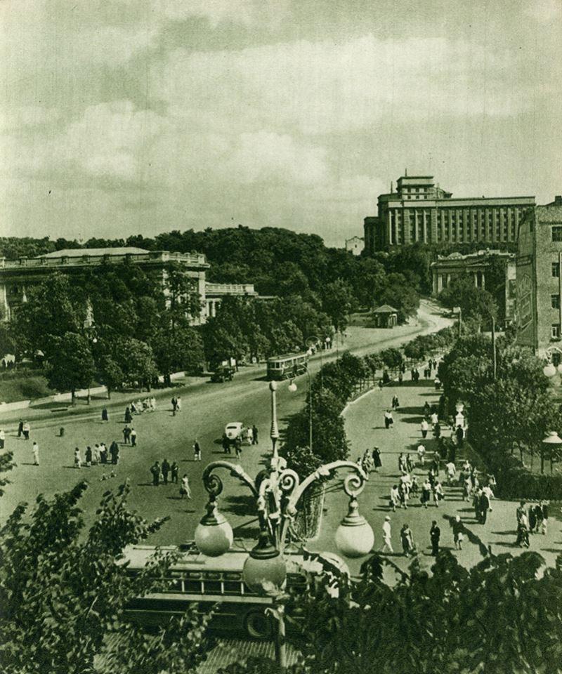 Київ у раритетних фотографіях 1954 року