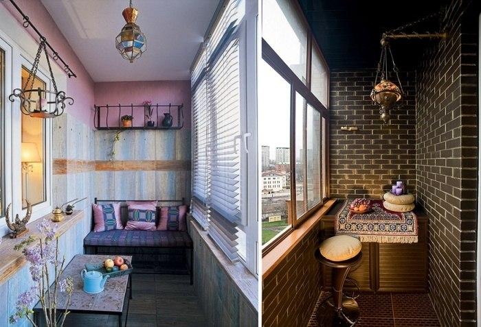 Идея ремонта для маленького балкона или лоджии