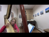 Hans Zimmer - King of Pride Rock (The lion King) Harp Cover (кавер на арфе)