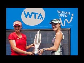 Sania Mirza -Martina Hingis win Wuhan Open