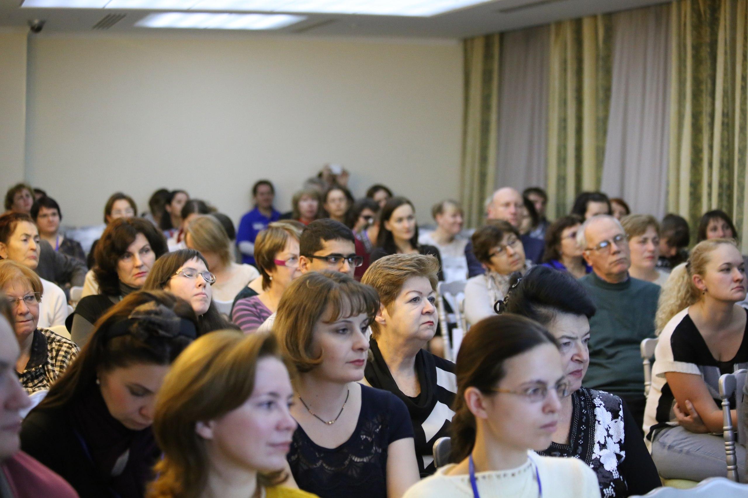 98 - столько человек пришло на конференциию клиники Сфера в 2015 году