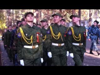 Сбор ВПК в Кировце 2015г. 2взвод