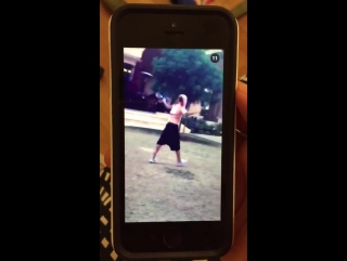 August 4: Fan taken video of Justin playing soccer in Beverly Hills, California