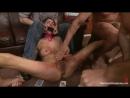 Толпа мужиков издевается и трахает брюнетку во все щели Princess Donna Dolore gets gangbang'ed and humiliated