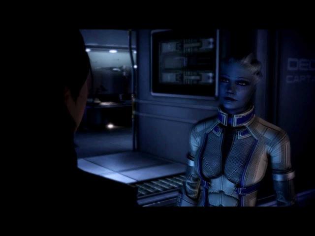 Mass Effect 3 - Роман с Лиарой Т'Сони - Все диалоги