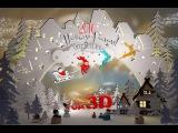 Видеопоздравление с наступившим 2016 годом от Ивановского Никиты  с катка на речке