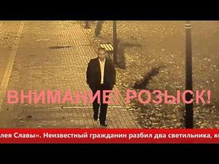 Полиция Гусева ищет вандала