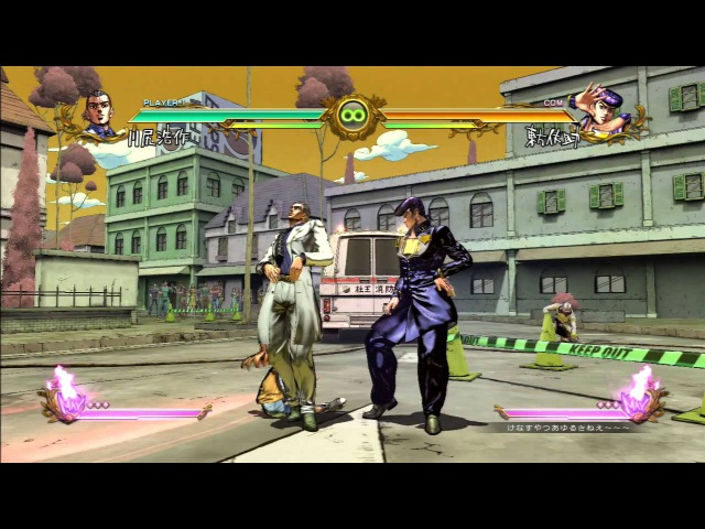 JoJo`s Bizarre Adventure All Star Battle All HHA/GHA and Throws: Kawajiri Kousaku (Kira)