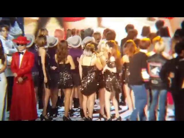 20151231 MBC歌謡大祭典 MBC가요대제전 少女時代 おしりふりふりソヒョン