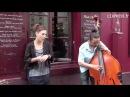 Zaz à Montmartre : Les passants