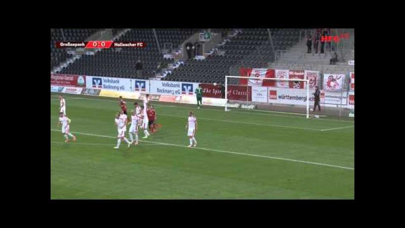 7. Spieltag: SG Sonnenhof Großaspach - Hallescher FC | Die Zusammenfassung
