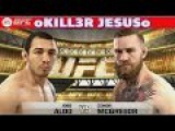 Jose Aldo vs Conor McGregor Full Fight I EA Sports UFC 2014 I PS4 XBOX ONE