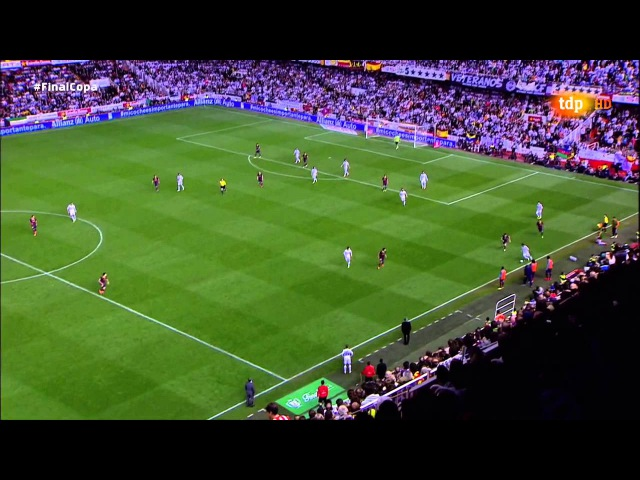 Gareth Bale Goal Final King's Cup Real Madrid 2 F C Barcelona 1 Copa del rey 16 04 2014 HD
