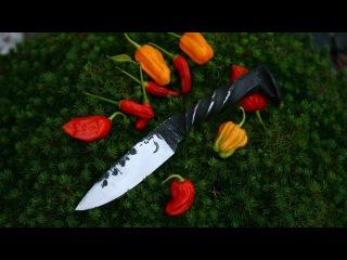 Изготовление ножа из железнодорожного костыля