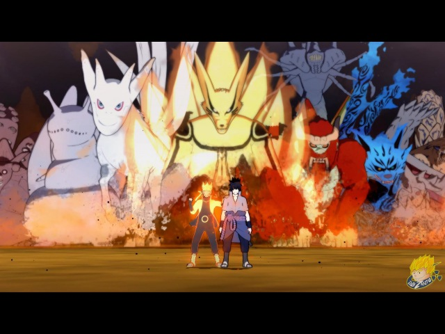 Naruto Shippuden: Ultimate Ninja Storm 4 - All Team Ultimate Jutsus/Linked Secret Techniques【1080P】