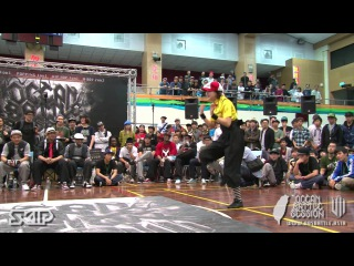 Locking Final - Lil Elmo vs Locking Luna   20130303 OBS VOL.7 TAIWAN FINAL