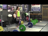 Jessica Lucero (58kg) Snatches and Jerks