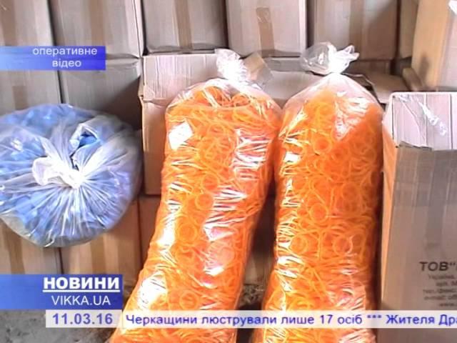 Черкаські фіскали натрапили на сотні літрів нелегального алкоголю