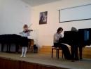 Отчетный концерт 1 класса. 15 мая 2015г.