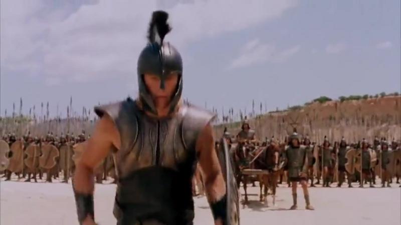 Троя (Ахилес против Багриса)