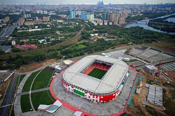 """Стадион """"Открытие Арена"""", Москва"""