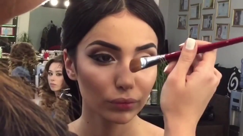 Make up arrow Макияж со стрелкой Визажист Амина Даудова