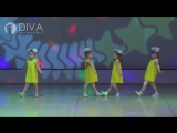 Детские танцы 5-7 лет от студии DIVA, хореограф Татьяна Егорова