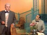 Валентин Гафт и Леонид Галлис в телеспектакле по пьесе Бернарда Шоу