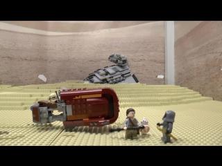 Обзор выставки Звездные Войны в музее моделей LEGO GameBrick