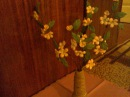 Цветы из ткани. (Яблоневый цвет.) Fabric flowers. (Apple Blossom).