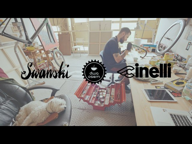 Swanski x Dwa Osiem x Cinelli. Making of a custom race bike.