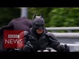 Meet Japans Batman - Chibatman a real life Dark Knight- BBC News