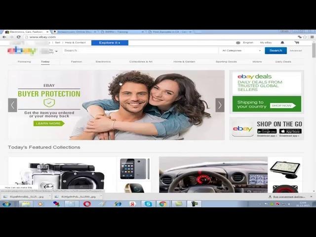 первый листинг на ebay вручную дропшипинг с амазон