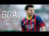 Goal Leo Messi Malaga 1:2 Barcelona | Гол Лео Месси Малага 1:2 Барселона | HD