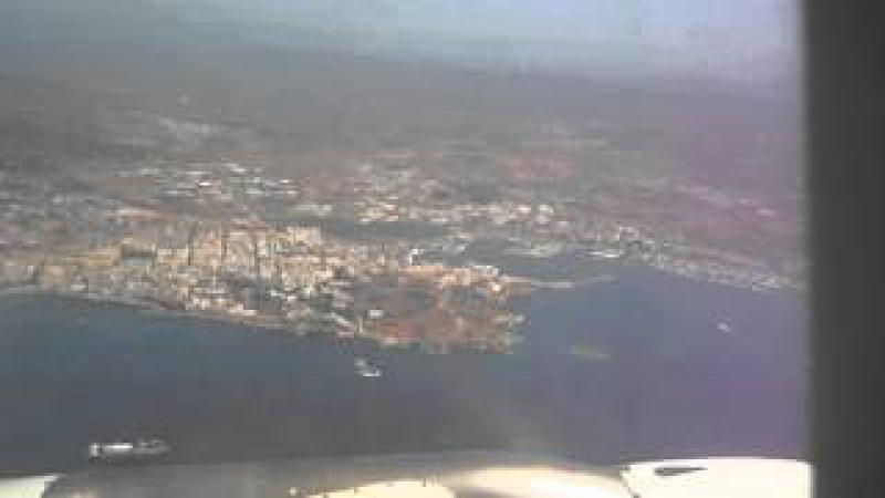 De Ibiza a Valencia en avion, despegue