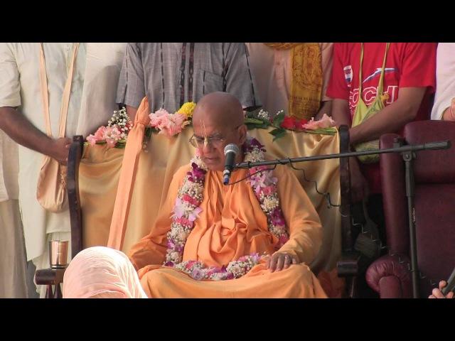 H.H. Gopal Krishna Goswami, Sadhu Sanga festival 29.09.2012 Initiation