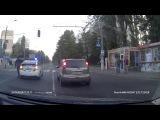 Новая одесская полиция на дороге! (С регистратора)