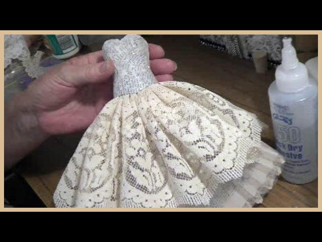 Art Dress Tutorial Part 1 Paper Mache Bodice