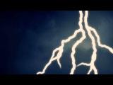 Футаж молния