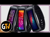 Обзор фитнес браслета - Samsung Gear Fit (2014)