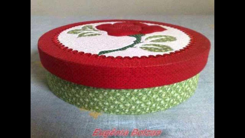 Eugênia Bolzan Patchwork embutido As Rosas