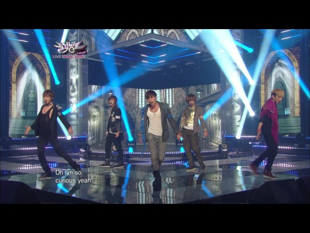 SHINee 샤이니_Sherlock•셜록 (Clue Note)_KBS MUSIC BANK_2012.03.30