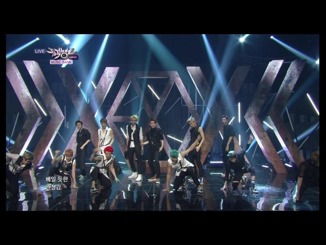 [VIDEO] 130802 EXO Comeback Stage - 으르렁 (Growl) @ KBS Music Bank