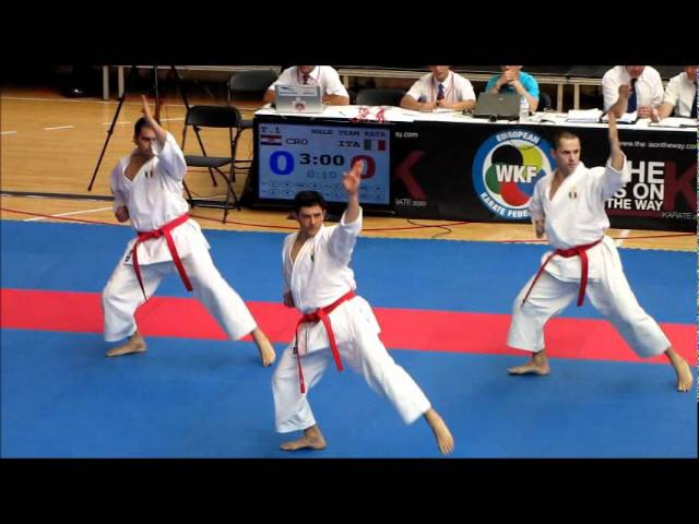 Team Kata EMPI by ITALY - 47th EKF European Karate Championships