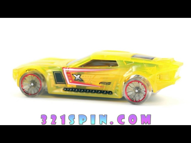 Hot Wheels 2016 - Bullet Proof (X-Raycers DHP47) spin - toy review - for kids - 321SPIN