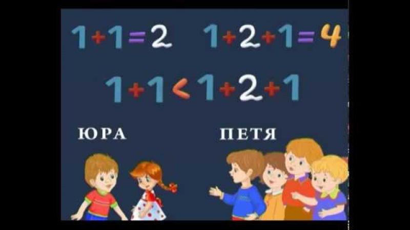 Математика 55 Задачки на количественный и порядковый счет Шишкина школа